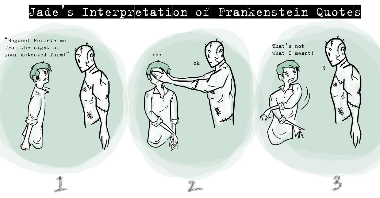 Quotes From Frankenstein New Frankenstein Quote Interpretationkikuchan13 On Deviantart