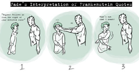 Frankenstein Quote Interpretation