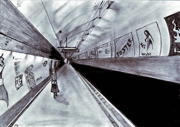Midnight in the Subway by Botan