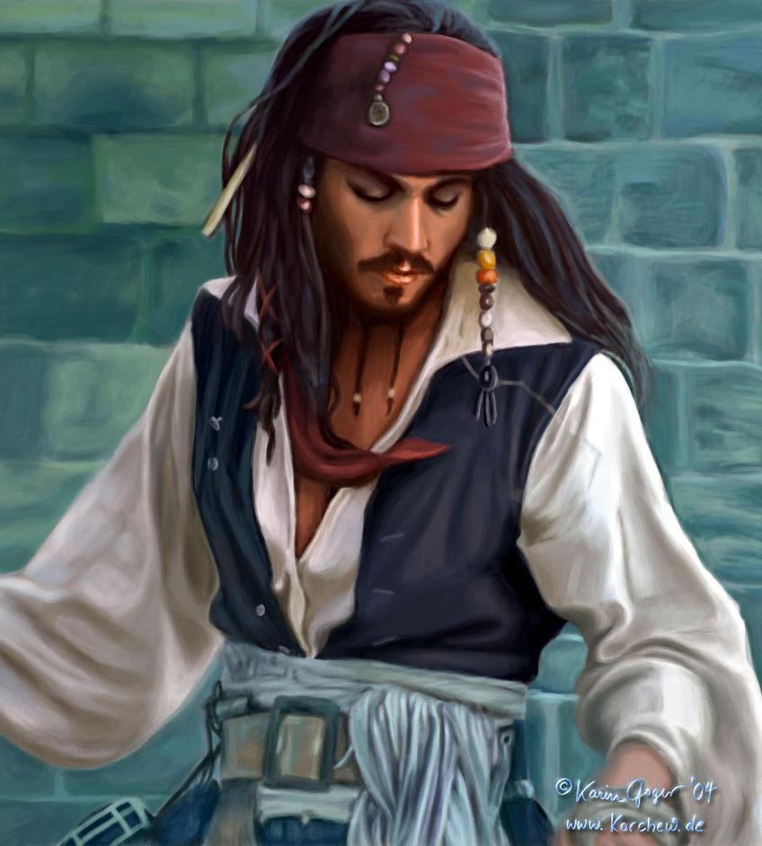 Captain Jack Sparrow by karchew
