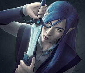 Hello New Sword by karchew