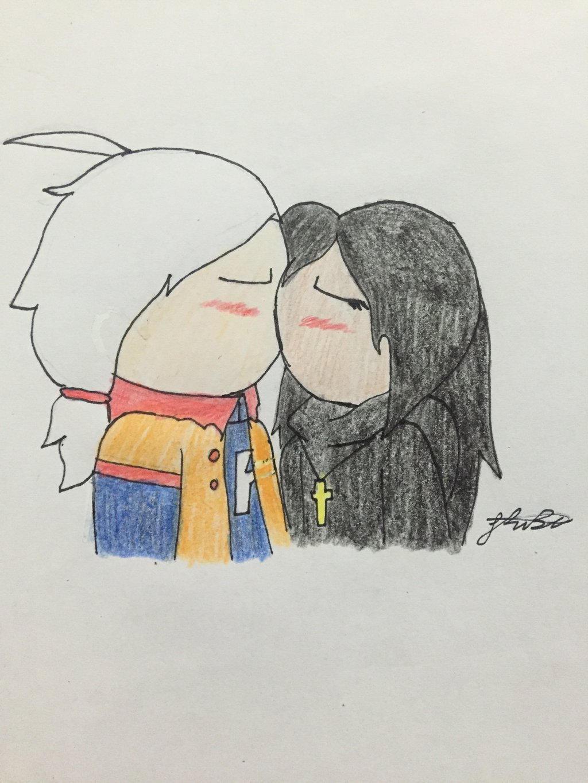 (RP) kiss by Lifeistrange