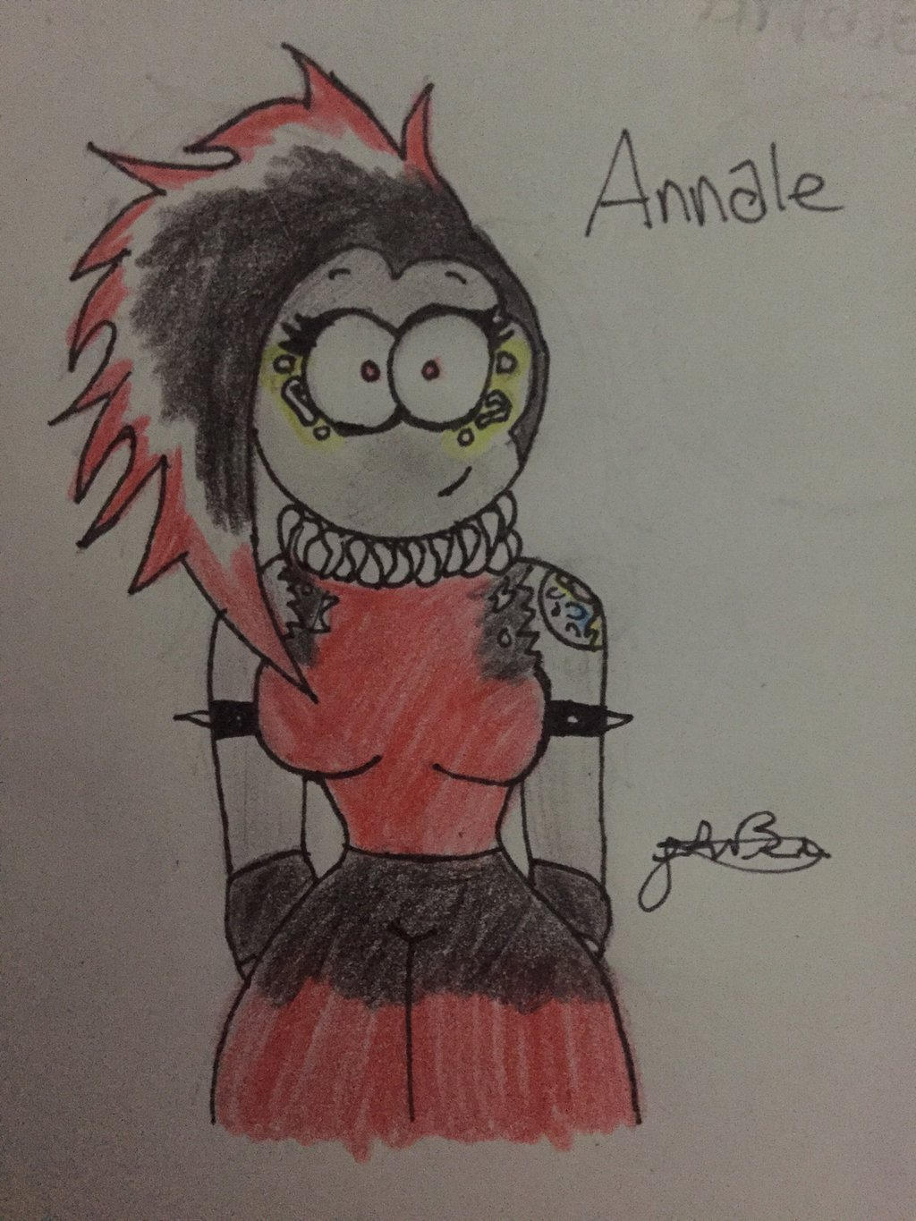 Annale daughter of Trauma and Luna by Lifeistrange