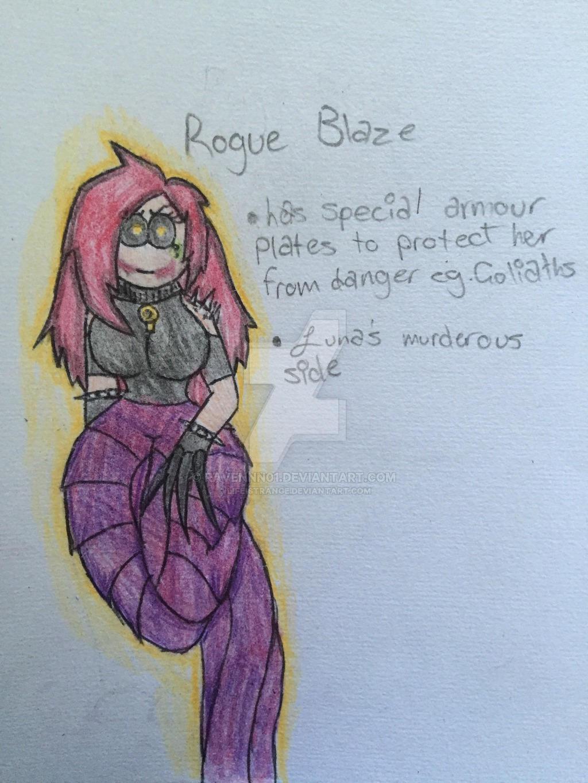 Rogue-Blaze by Lifeistrange