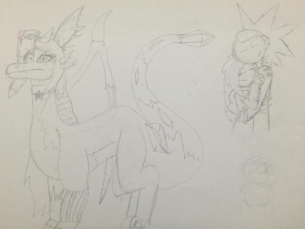 Random ass sketches 1 by Lifeistrange