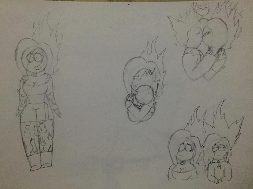Rebel sketches by Lifeistrange