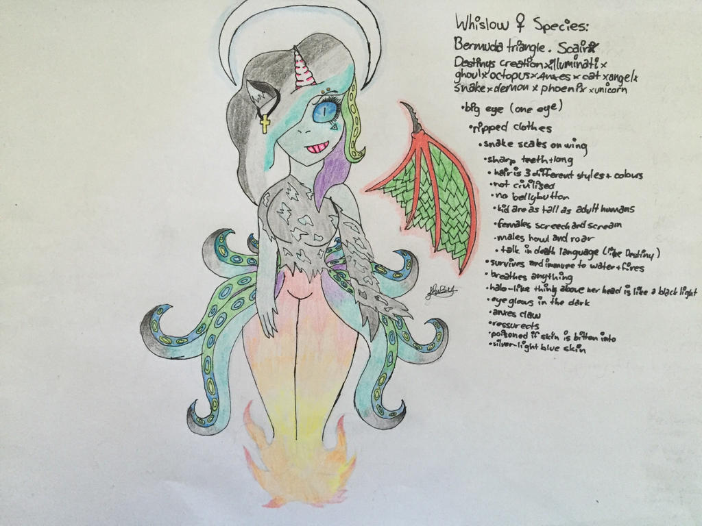 Whislow (could say she's an alien) by Lifeistrange