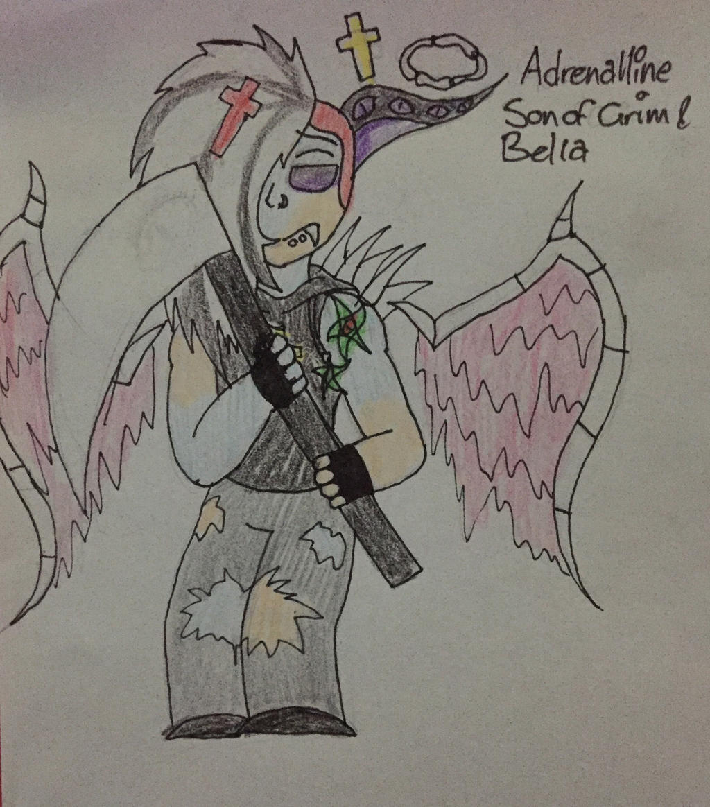 Adrenaline - son of Grim and Bella by Lifeistrange