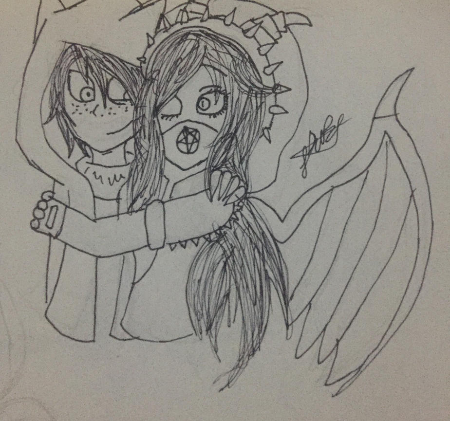 Another otp (sketch)  by Lifeistrange