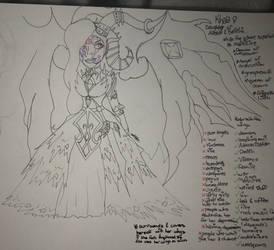 OC Khala sketch by Lifeistrange