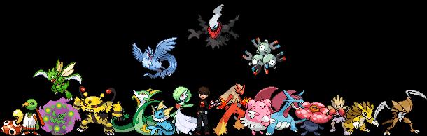 Pokemon Type Meme Thing by RichardBlaziken