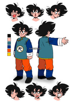 (DBZOC) | Son Goku Junior | DBZ TNG