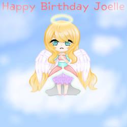 Joelle Birthday Drawing ~ Angel by HarmonyWind