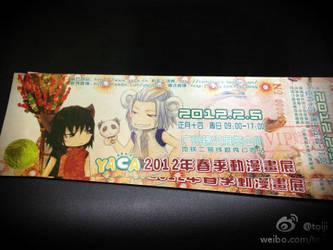 YACA2012SPR ticket by toiji
