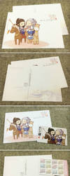 2014 Calendar and post card by toiji