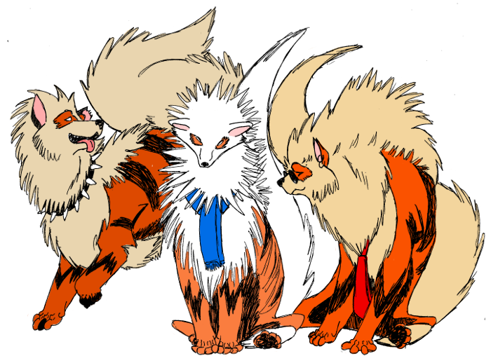 Pokemon Growlithe Evolution Level Images | Pokemon Images