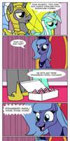 Luna's royal duties