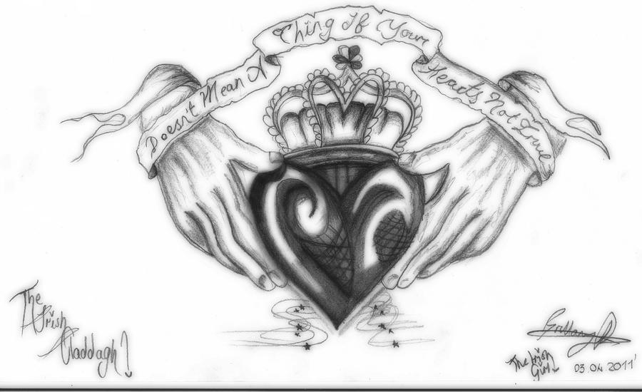 The Irish Claddagh By Brittanyrichardshere On Deviantart