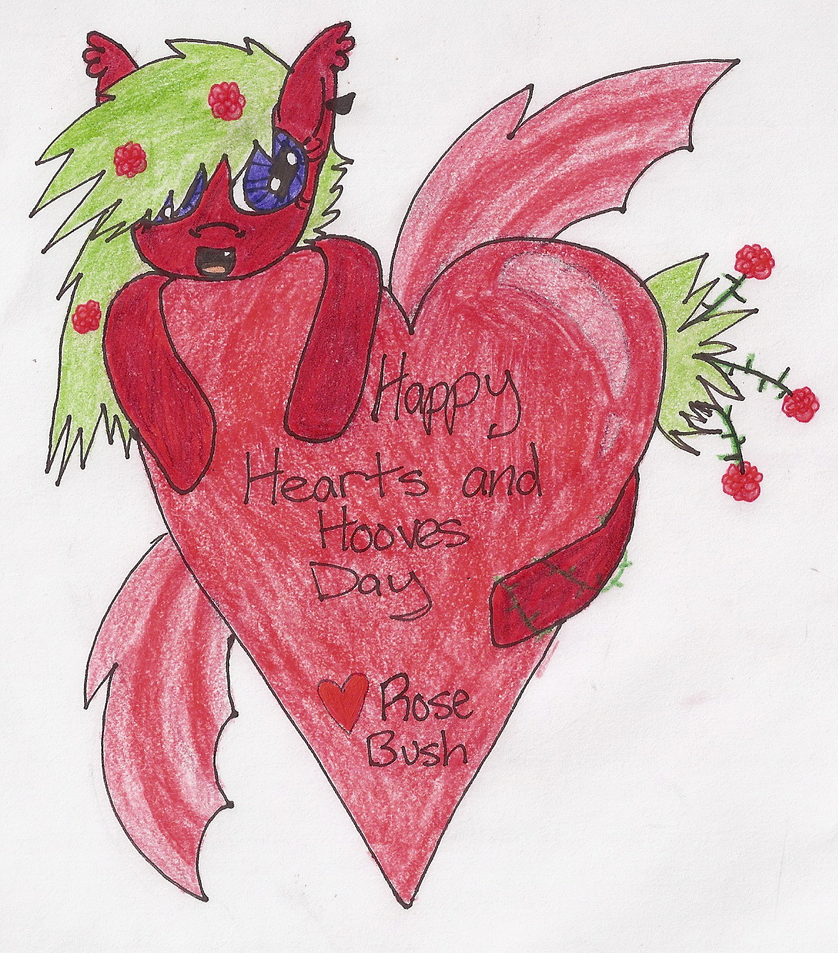 Happy Hearts and Hooves Day! by Brickpool