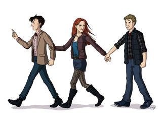 Team TARDIS by eclecticmuses