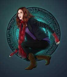 Amy and the Pandorica by eclecticmuses