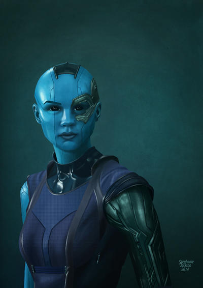 Guardians of the Galaxy - Nebula by eclecticmuse