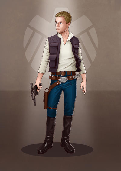 A Galaxy Far Away - Fitz by eclecticmuse