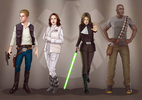 A Galaxy Far Away - Agents of SHIELD by eclecticmuses