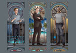 Art Nouveau - Agents of SHIELD Men