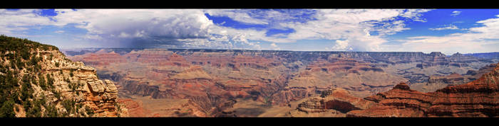 The Grand Canyon by sebb7