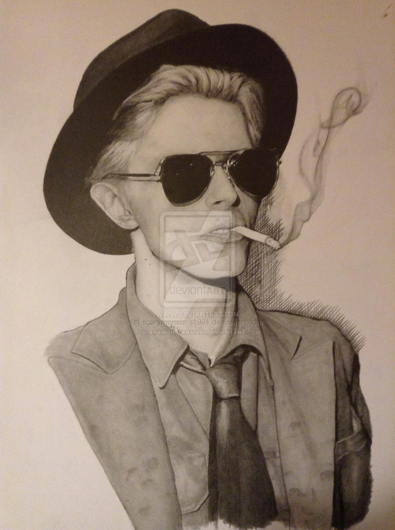 Bowie Smoke by scarymonsters1991