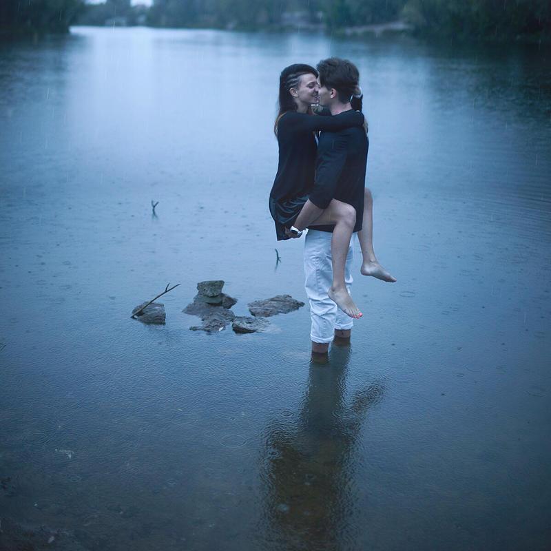 Rain by Khomenko