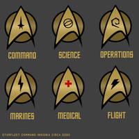 Starfleet Command Patch by hallgarth