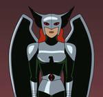 Shayera Hol as Warhawk (DCAU/Timmverse)