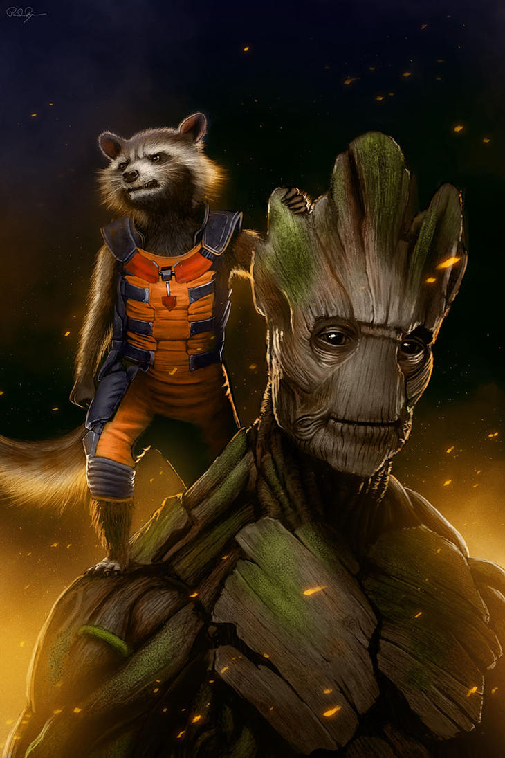 groot and rocket relationship help
