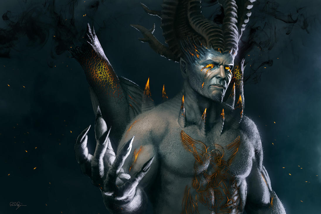 Lucifer (Dante's Inferno) by mafaka