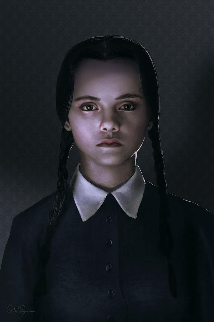 Wednesday Addams by mafaka