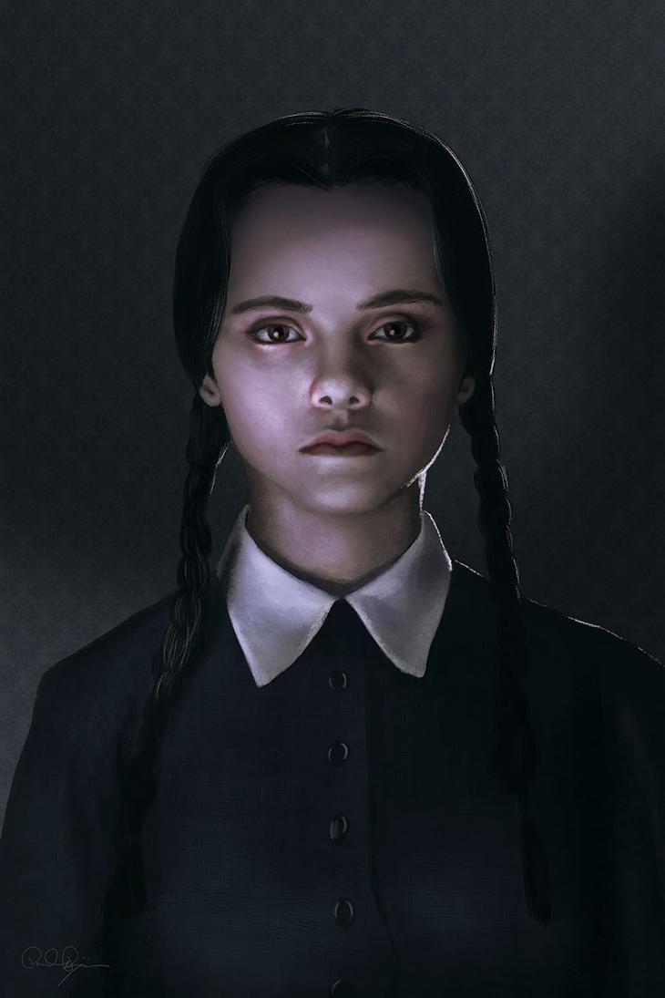 Wednesday Addams by mafaka