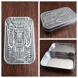 H.R. Giger Tin Etching