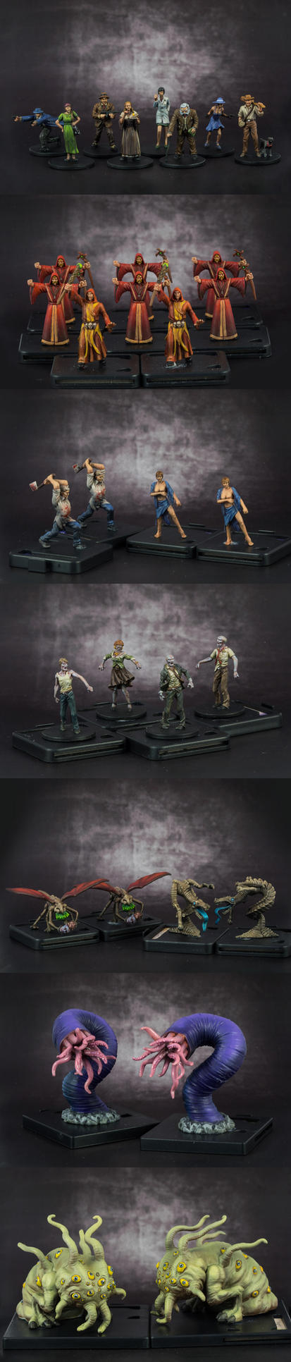 Mansions of Madness (Miniatures) by mafaka