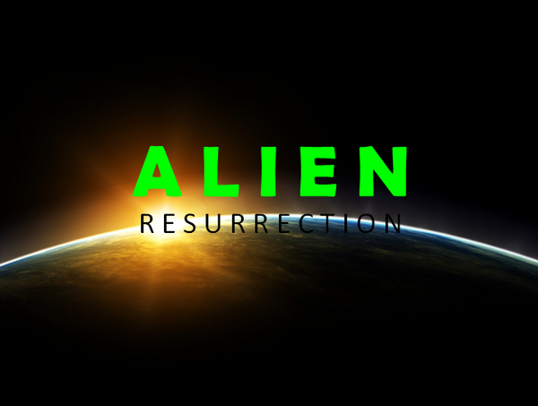ALIEN RESURRECTION remade logo by Picture2841