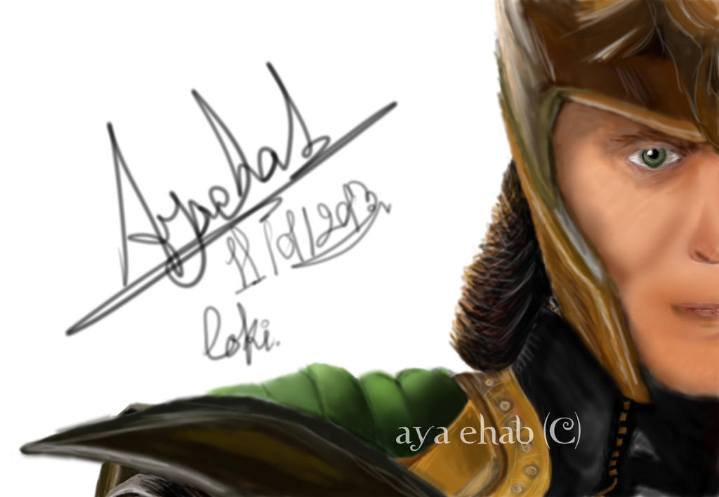 God of Mischief. by crazy4demi