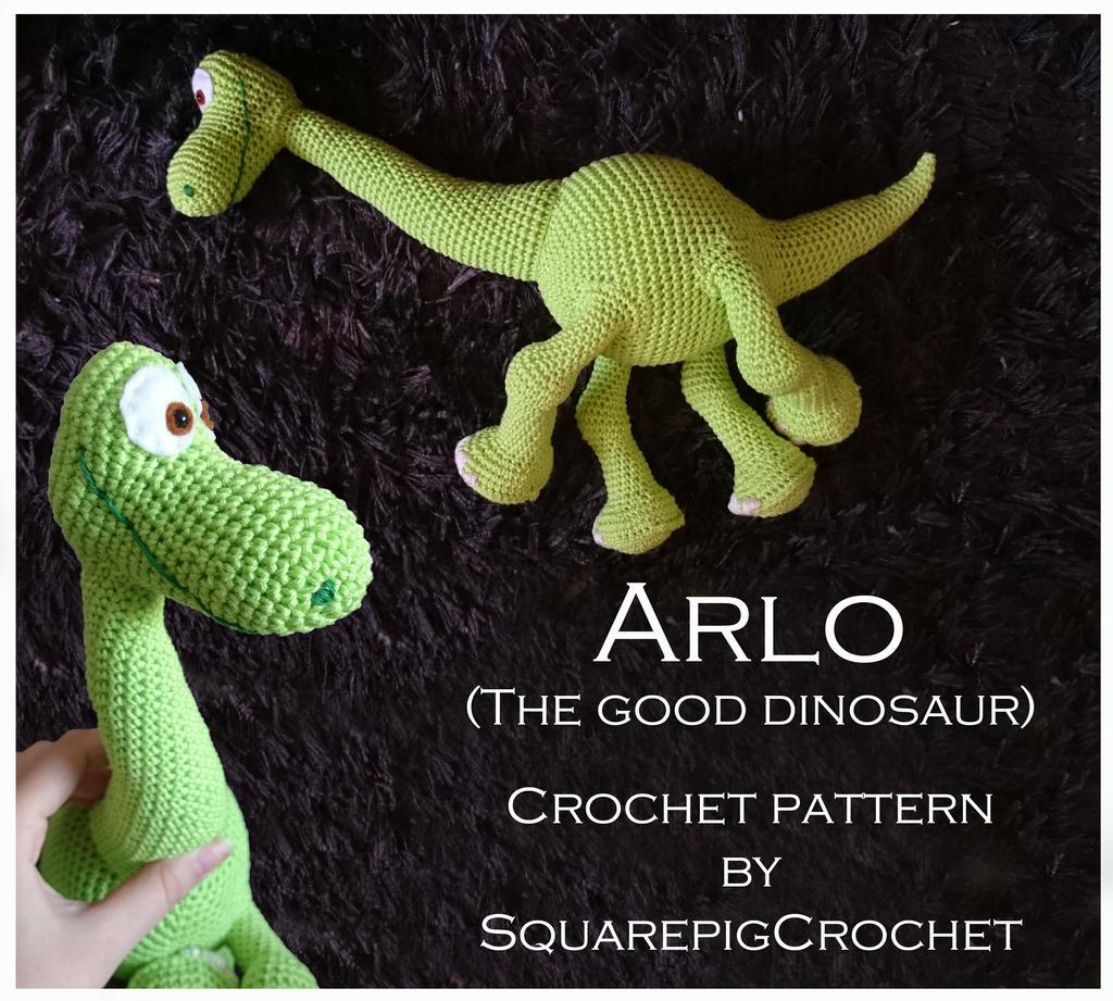 Crochet pattern Arlo (The good Dinosaur) by JupZje on ...