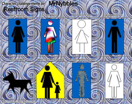 Restroom Signs Meme