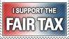I Support Fair Tax Stamp by WindieDragon
