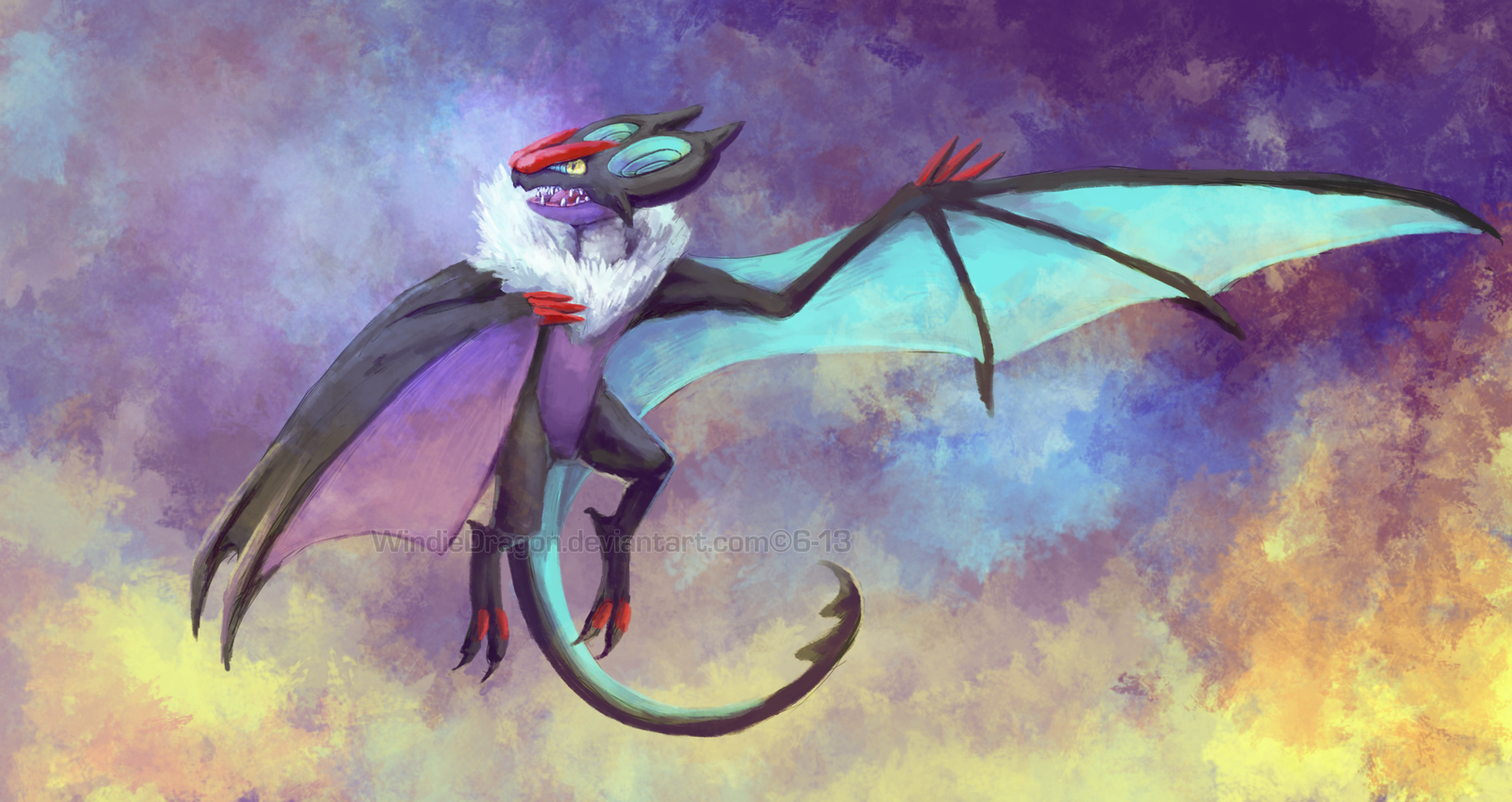 Noivern by WindieDragon