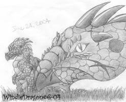 Dragon Mom by WindieDragon