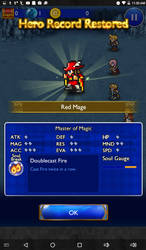 It's a Red Mage by Justsomecatheu