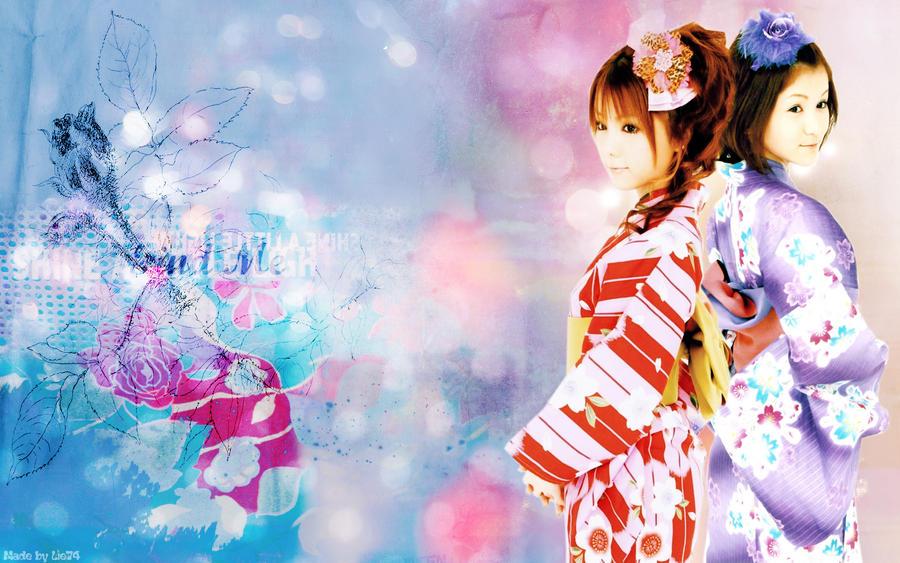 Reika Wallpaper by Lie74