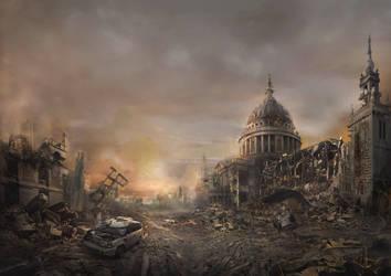 Destroy City by kukubirdwei